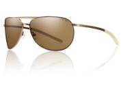 Smith Optics Serpico Slim Matte Desert Sunglasses W/ Brown Lens Outdoor Sports