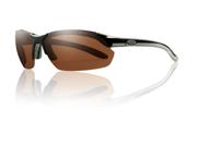 Smith Optics Parallel Max Black Sunglasses With Polar Copper & Yellow Lens