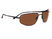Serengeti Eyewear Sunglasses Levanto 7587 Satin Dark Brown Frame Polarized Lens