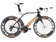 2012 Kestrel 4000 LTD Di2 3125115457 Carbon Orange 57.5CM Road Bike