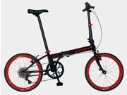 Dahon Speed D7 Obsidian Red Folding Bike Bicycle