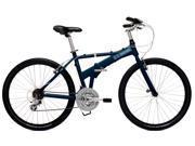 "Dahon Espresso Baltic Blue Large 20"" Folding Bike Bicycle"