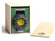 Casio PAG240-1B Triple Sensor Solar Pathfinder Green Digital Resin Strap