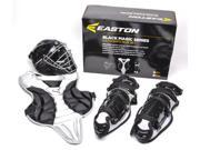 Easton 2014 Black Magic Catcher Jr Youth Box Black A165013BXBK