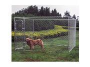 10' x 10' x 6' Dog Kennel DIY Box Kennel Chain Link Dog Pet System