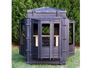 Hughes 4x4 Bay Window Bow Hunting Blind Hideout Box Bay Half Door Model 67005