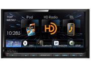 "Kenwood 6.95"" Double Din Receiver w/ USB HD and built in Blueooth New DDX672BH"