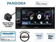 "Kenwood DDX272 In Dash 6.2"" DVD Receiver with Backup Rear View Camera CMOS-220 and FREE SOTS Air Freshener"