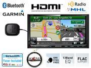 """Kenwood DNX892 In Dash Double Din 6.95"""" DVD Navigation with Built in Bluetooth, HD Radio and SiriusXM Tuner & Antenna with a FREE SOTS Air Freshener"""