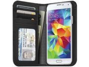 GALAXY S5 Wallet Case Black
