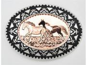 Copper Buckle - Horses