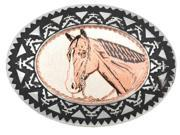Copper Buckle - Horse