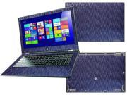 """Decalrus  - Lenovo Yoga 2 PRO with 13.3"""" screen Full Body BLUE Chameleon Mosaic pattern Blue to Purple texture skin skins decal for case cover wrap MOSYoga2ProBlue"""