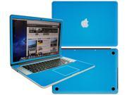 Decalrus  - Apple Macbook Pro 15 with RETINA display Full Body Lite BLUE Texture Carbon Fiber skin skins decal for case cover wrap CFCF15retinaLiteBlue