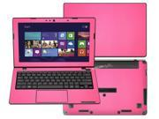 """Decalrus  - Asus Vivobook X200MA X200CA K200MA  with 11.6"""" TOUCHscreen Full Body Hot PINK Texture Carbon Fiber skin skins decal for case cover wrap CFX200MAHotPink"""