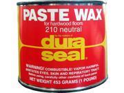 DURA SEAL Neutral 1lb Paste Wax