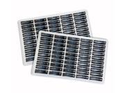 Chrome Pro Series 1.5V AA Alkaline Batteries 100 Pack