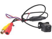 Pyle - Universal Mount Optional Front View & Rear View Backup Color CMD Camera Built-In Distance Scale Line