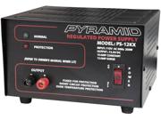 Pyramid PS12KX 10-amp 13.8-volt Power Supply