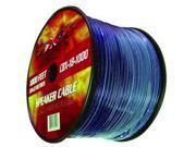 New Xxx Cbx181000 18 Ga 1000' Spool Speaker Wire With Translucent Insulation