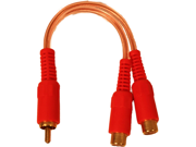 """NEW XXX XRCAY2F 6"""" 1 MALE / 2 FEMALE Y-CABLE"""