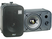 "New Pair Pyle Pdmn48 5.25"" 400W 2 Way Indoor Wall Mount Audio Speakers"