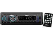 New Pyle Plr34m In Dash Mp3 Usb Sd Aux Am Fm Car Receiver Stereo Remote Plr24mpf