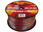 New Xxx Brx12500 12 Ga Gauge 500' Spool High Qualit Economy Speaker Cable