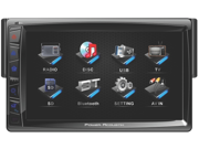 "New Power Acoustik Pd712b 7"" Touchscreen Cd/Dvd/Mp3 Car Player Bluetooth Pd-712B"
