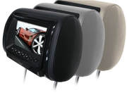"New Boss Hir7bgta 7"" Widescreen Monitor Headrest With Sd Usb Inputs & Dvd Player"