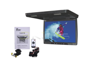 """New Tview T2207ir 22"""" Black Widescreen Overhead Flip Down Lcd Car Monitor Remote"""