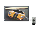 "New Tview Trp22 22"" Tft Lcd Widescreen Car Monitor W/ Wireless Remote"