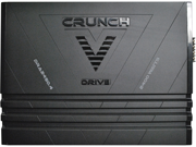 New Crunch Dra24504 4 Ch 2400W Car Audio Amplifier Amp 4 Channel 2400 Watt