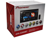 "NEW PIONEER AVH-X2500BT 6.1"" TOUCHSCREEN DVD USB MP3 IPHONE BLUETOOTH AVHX2500BT"