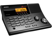 Uniden - BC 345CRS - Uniden Bc345crs 500 Channel Narrowband Desktop Scanner With Clock Radio, Noaa Weather & Alert