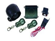 New Omega Free550cf Car Alarm W/ Carbon Fiber Remotes Keyless Enty Free-550Cf