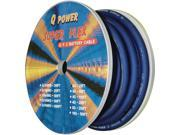New Q Power 0Gabl25ft Blue 0 Ga 25' Spool Car Audio Power & Ground Wire 0 Gauge