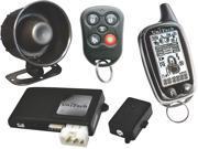 NEW UNITECH UNI335 CAR ALARM REMOTE START/KEYLESS ENTRY LCD CHROME TRANSMITTER