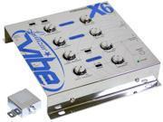 Lanzar Vibex6 3 Way Electronic Crossover W/ Remote Sub Level Control