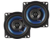 "New Pair Q Power Qp402 4"" 2 Way 250W Car Audio Speaker 250 Watt"