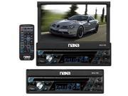 "New Naxa Ncd-708 7"" Bluetooth Touchscreen Car Audio Cd/Dvd Player Mp3 Car Stereo"
