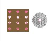 ProActive Golfdotz--Hearts & Flowers