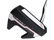 Odyssey Men's Versa 7 White Hot Insert Black/White/Black Putter, Left, 35-Inch