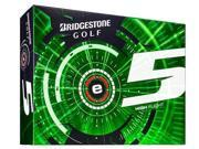 Bridgestone e5 Golf Balls (Pack of 12) - White - New for 2015