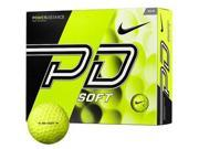 Nike Power Distance Soft Golf Balls (12 Pack)- Volt