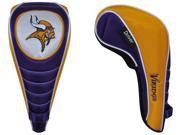 Minnesota Vikings NFL Shaft Gripper Driver Golf Headcover - Team Effort