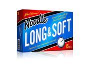TaylorMade Long and Soft 15pk Golf Balls