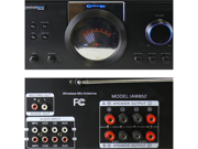 Technical Pro IAW852 Integrated Amplifier 2500 Watts w/ 2 Wireless Mics