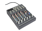 Podium Pro Podium Pro Audio 6 Channel Pro Audio Mic / Line Stereo Mixer Console with Bluetooth MX602B