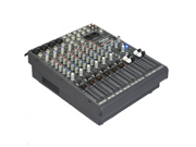 Podium Pro Audio 12 Channel Pro Audio Mic / Line Stereo Mixer Console with Bluetooth MX1204B